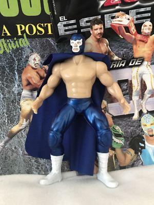 Blue demon lucha libre action figure Los Ángeles for Sale in Pico Rivera, CA
