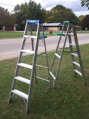 2 Keller ladders for Sale in East Peoria, IL