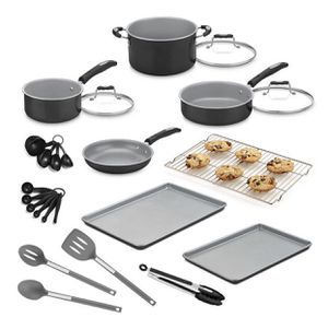 Cuisinart 24pc Aluminum Cookware Set - New for Sale in Crescent Township, PA