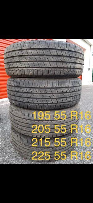 Set 205 55 R16 for Sale in Davie, FL