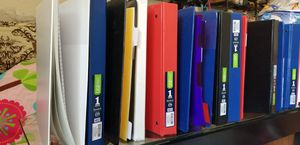 1 inch Binders for Sale in Waxhaw, NC