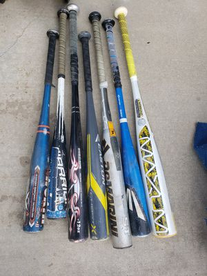 Baseball bats for Sale in Hughson, CA