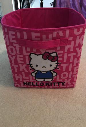 Hello kitty storage cube for Sale in Flower Mound, TX