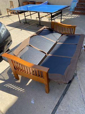 Brown Futon for Sale in Rancho Palos Verdes, CA