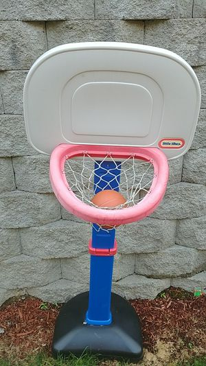Basketball hoop with ball. Little tikes for Sale in Redmond, WA