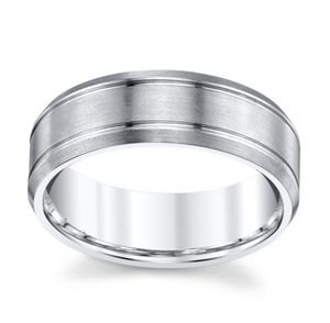 Mens Wedding Ring White Gold Size 11/12 for Sale in San Diego, CA
