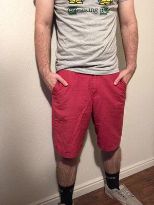 Red vans shorts for Sale in Salt Lake City, UT