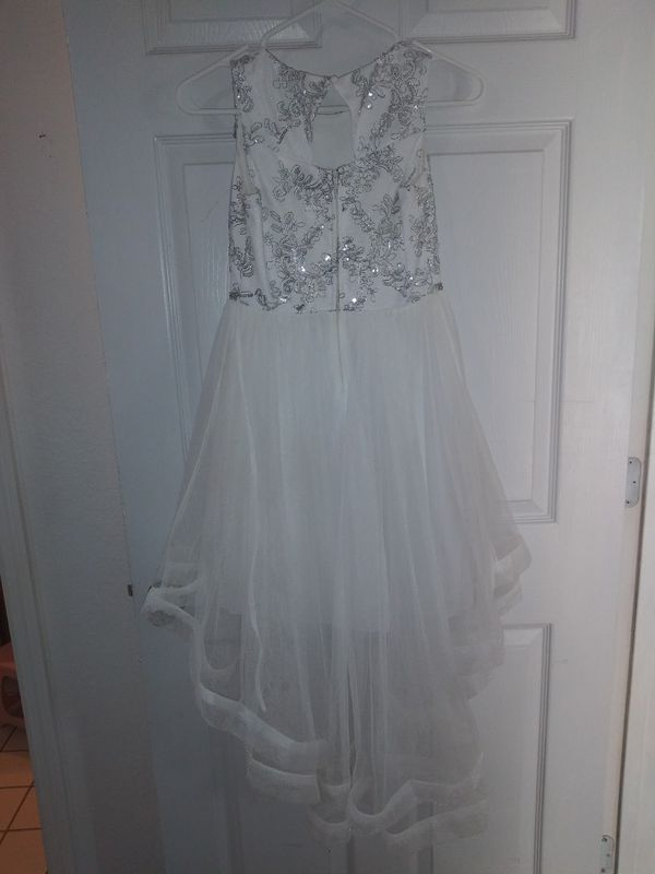 Girl special occasion dress and shoes