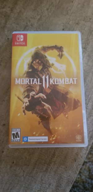 Mortal kombat 11 for Sale in New Haven, CT