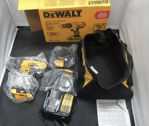 DEWALT 20V MAX Cordless Drill / Driver Kit, Compact, 1/2-Inch for Sale in Syracuse, NY