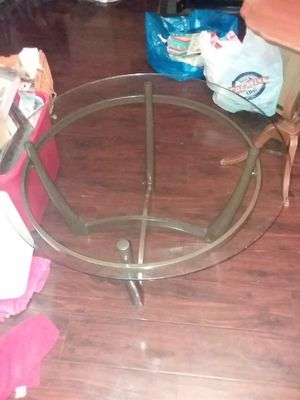 Glass top table for Sale in Glendale, AZ