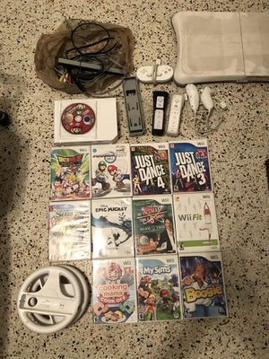Wii gaming set up for Sale in FL, US