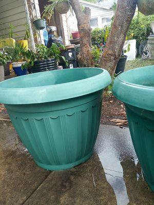 Large planters / pots for Sale in San Antonio, TX