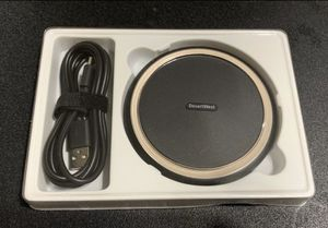 DesertWest Fast Wireless Charger, 15W Qi Wireless Charging Pad, Compatible with iPhone XS/Xs Max, XR, X, 8/8+, Samsung Galaxy S10/10+/10e, S9/9+, S8/ for Sale in Colton, CA