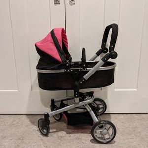Deluxe Doll Stroller/Pram And Bassinet for Sale in Cleveland, OH