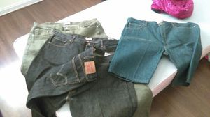 3 pairs of 501 levi jeans all size 42,32 for Sale in Las Vegas, NV