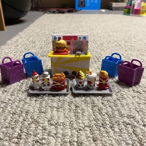 Shopkins fast food collection for Sale in Tabernacle, NJ