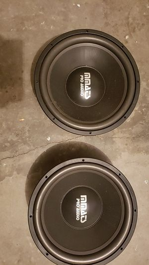 2 15 inch mmats pro audio 3.0 for Sale in Union Park, FL