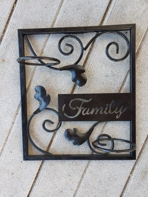Family - hanging candle holder for Sale in Hudson, CO