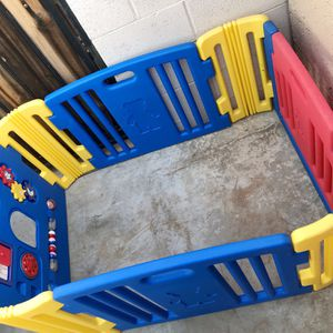 Colorful Baby/Kids Playpen with Gate for Sale in Phoenix, AZ