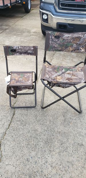 Folding hunting chairs for Sale in King, NC