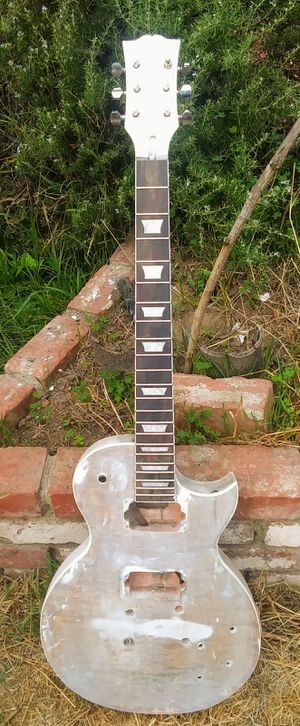 Unfinished Single-Cutaway Guitar Body & Neck for Sale in Covina, CA