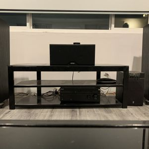 Entertainment System, Tower And Center Channel Speakers, Subwoofer, for Sale in Los Angeles, CA