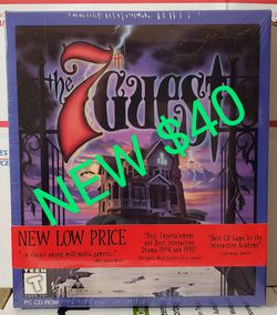 NEW NOS PC The 7th Guest CD-ROM BIG BOX SEALED for Sale in St. Louis,  MO