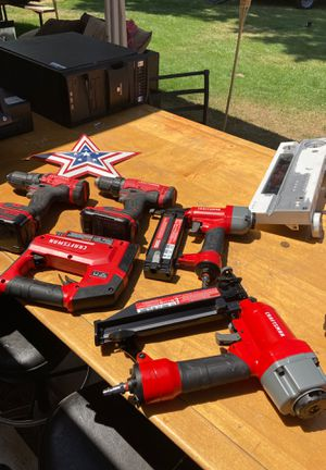 Craftsman dragons finishing nails and staple nail gun for Sale in Commerce City, CO