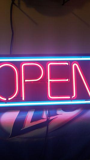 Open sign for Sale in Wichita, KS