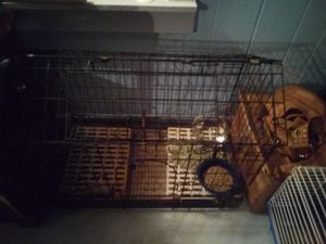 Large rabbit cage with feet pads for Sale in Binghamton, NY