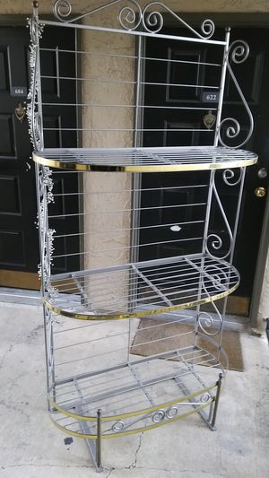 """78"""" X 40"""" BAKER RACK. IN EXCELLENT CONDITION. for Sale in Dallas, TX"""