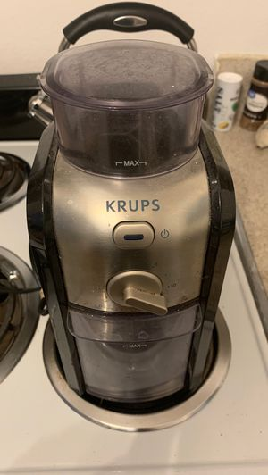 Krups Coffee Grinder w/Catch and Tray! for Sale in Gilbert, AZ