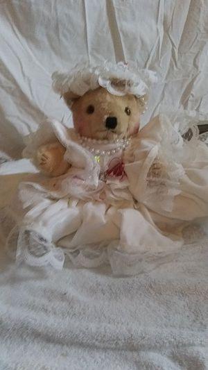Wedding dress Bear for Sale in Shawnee, KS