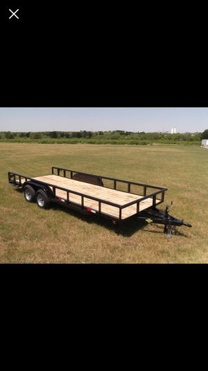 20 x82 Utility Trailer for Sale in Spring, TX