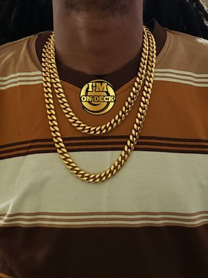 For both 👑👑👑14k Gold Plated cuban link chain 🔥🔥🔥I Deliver🚘🚘🚘💱💱💱💯💯 for Sale in Miami, FL