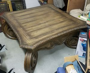 Table vintage 4ft X 4ft square for Sale in Riverside, CA