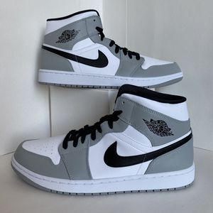 New Jordan 1 Mid Smoke Grey Men's Sizes 9.5, 13(pending) for Sale in Phoenix, AZ