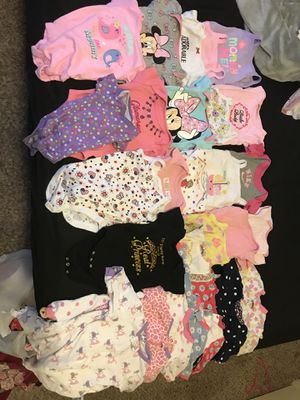 Baby Girl clothes 0-3 for Sale in Denver, CO