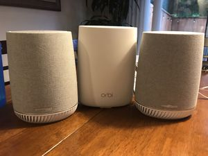 Orbi Router w/ two satellites for Sale in Shoreline, WA