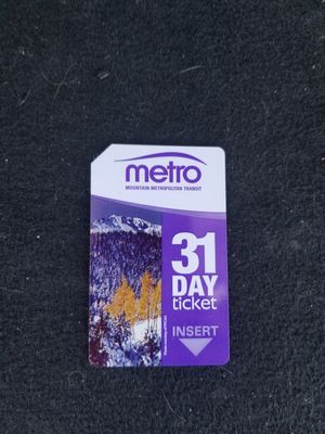 MMT Colorado Springs 31 Day Bus Pass for Sale in Colorado Springs, CO