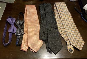 5 piece tie bulk - Michael Kors, Jones New York and more! for Sale in Kensington, MD