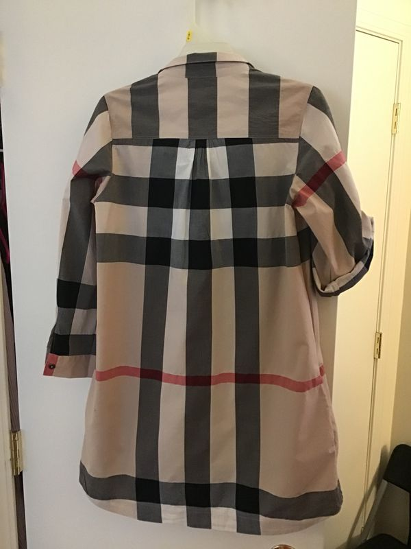 Authentic Burberry tunic/shirt/dress sz 12Y