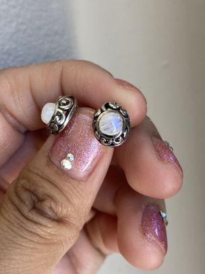 Dainty moonstone studs for Sale in San Diego, CA