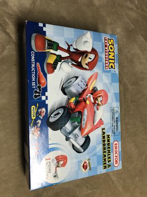 Sonic the Hedgehog Knuckles & Landbreaker erector construction set for Sale in Odenton, MD