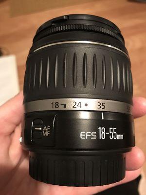 Canon DLSR 18-55 Kit Lens for Sale in Arlington, VA