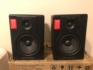 "M audio BX5a 5"" studio monitor Speakers for Sale in Spring, TX"