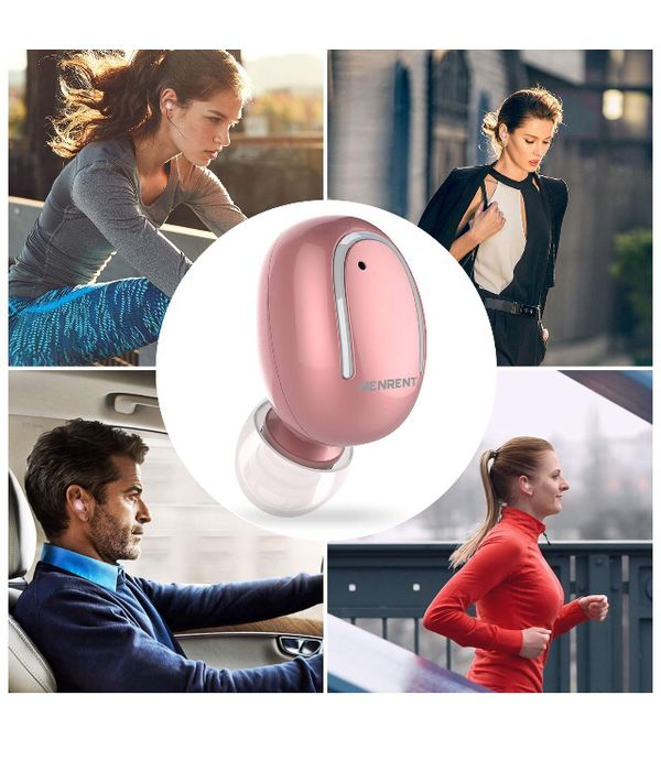 Bluetooth Earbuds, Smallest Mini Invisible V4.1 Wireless Bluetooth Earpiece Earphone Headset Headphone with Mic Hands-Free Calls for iPhone Samsung L