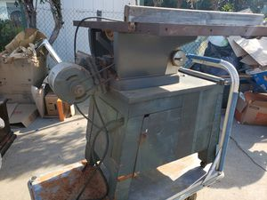 Craftsman table saw with cabinet for Sale in Covina, CA