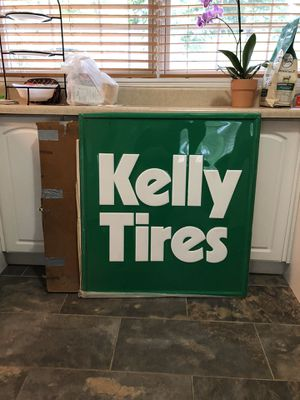 Kelly tire sign for Sale in Kildeer, IL